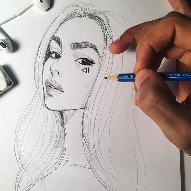 Pinterest Xpernillesophie Girl Drawing Sketchbook Drawings Drawings