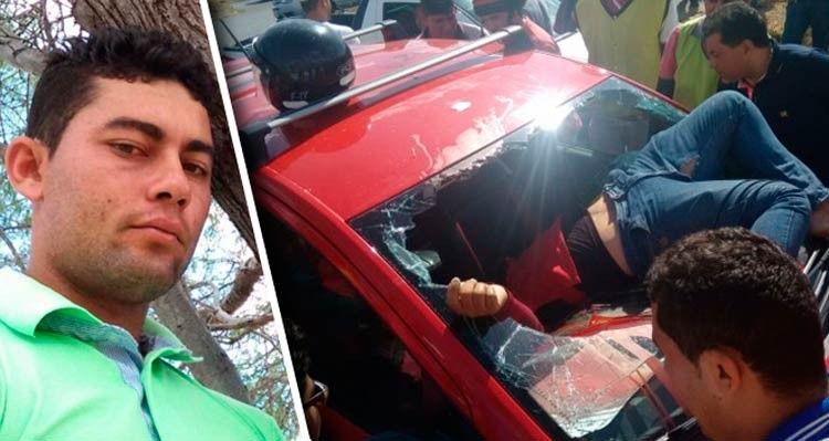 Mototaxi morre em colisão com carro em Serra Talhada