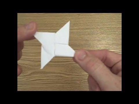 how to make an origami circle shuriken