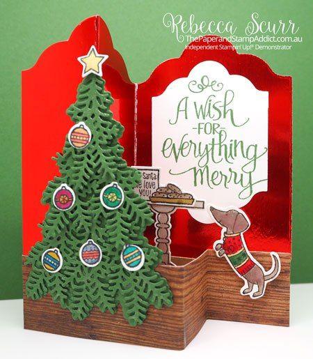 Itu0027s a Z-Fold kind of Christmas Tarjetas, Navidad y Animales