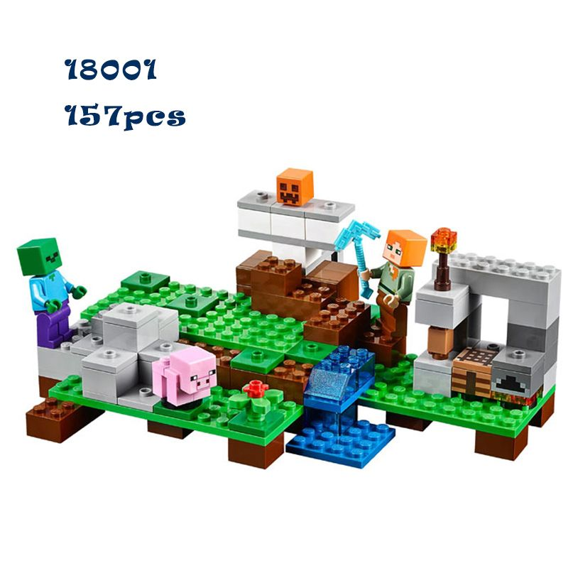 MineCraft Building kit Lego compatible //Price: $20.00 & FREE ...