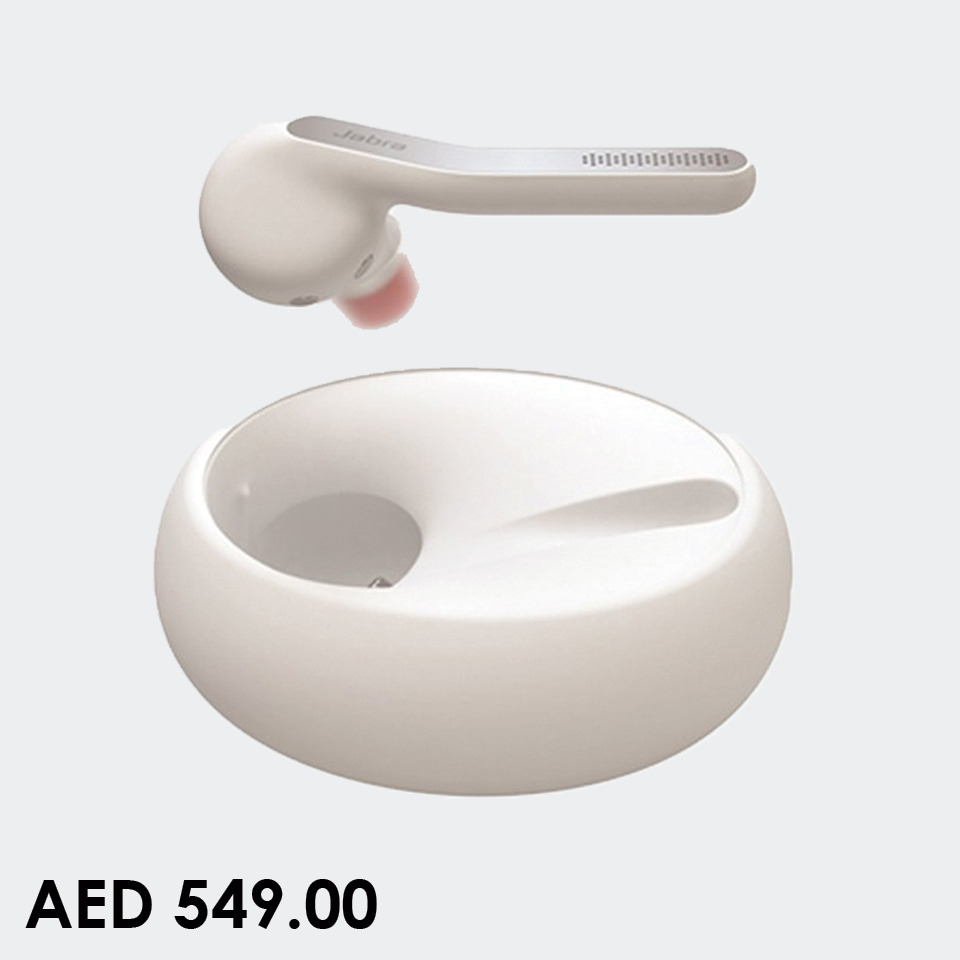 Jabra Eclipse Wireless Bluetooth Headset For Smartphone White Wireless Bluetooth Headsets Jabra Online Sh Bluetooth Headset Headset Contact Lenses Case