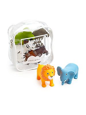 a3c99cd37d3ad Elegant Baby Six-Piece Jungle Party Squirties Bath Toys - No Color ...