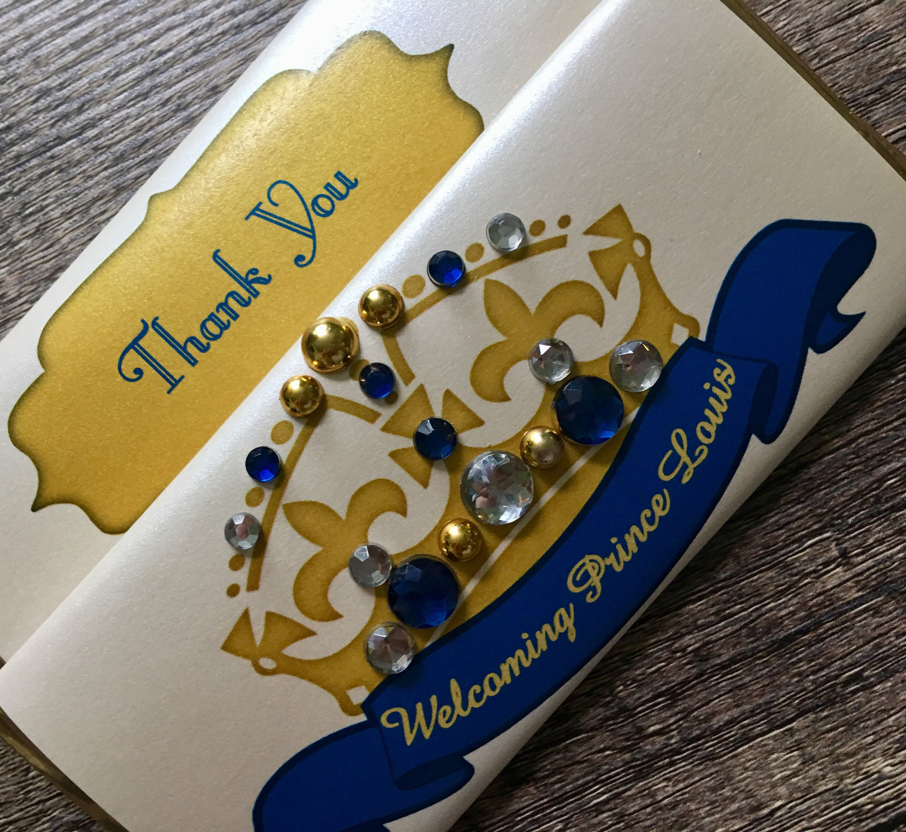 Excited To Share The Latest Addition To My Etsy Shop Little Prince Theme Royal Crown Candy Bar Wrapper Wit 1st Birthday Favors Bling Party Candy Bar Wrappers