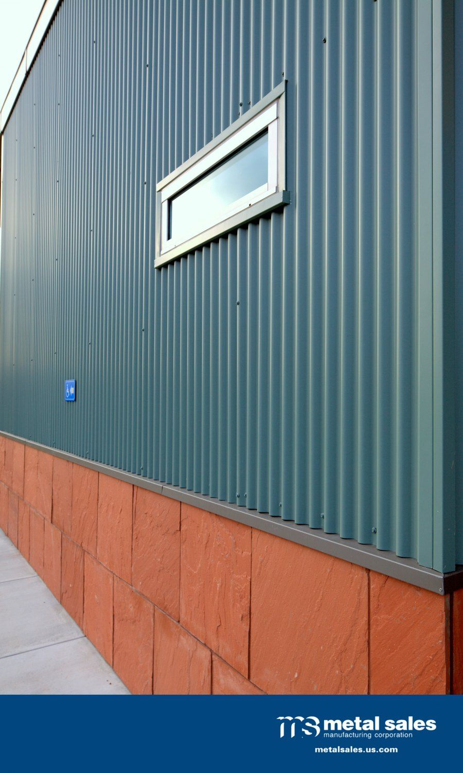 """7/8"""" Corrugated Metal Sales Wall Panels on the Humane ..."""