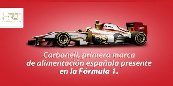 Carbonell en la F1 ;)