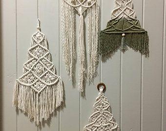 Macrame Macrame Wall Hangings Wall Decor Christmas Wall Decor Macrame Patterns Macrame Wall Hanging