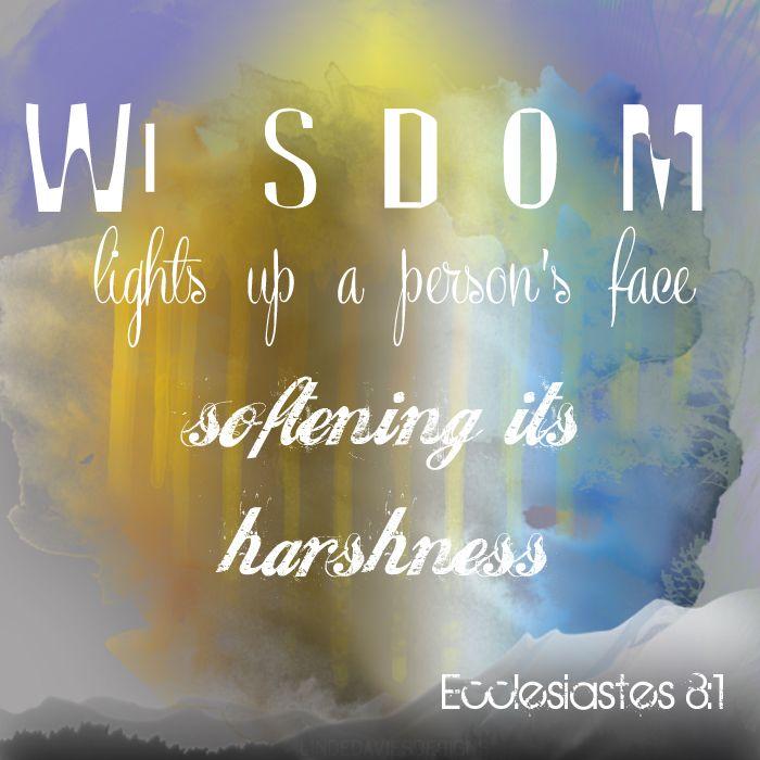 Image result for Ecclesiastes 8:1