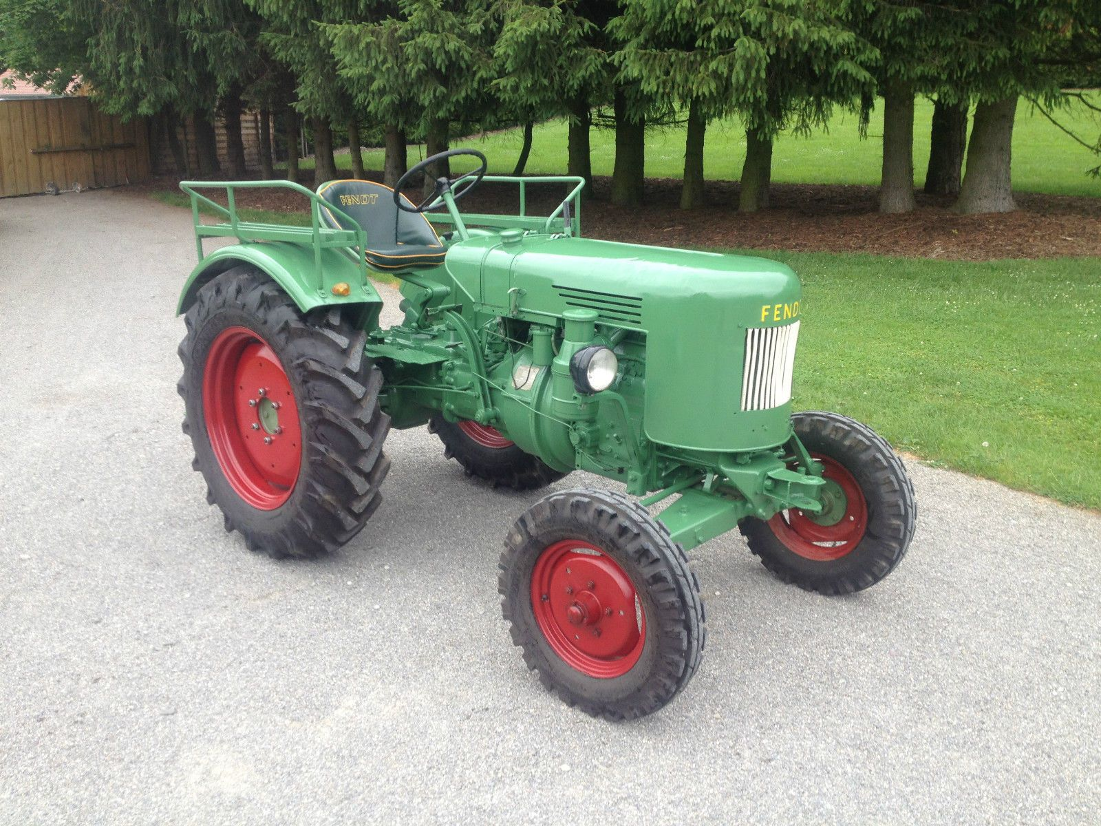 Fendt Dieselross F24 Wag 24ps Bj1956 Hochrad 30kmh Topzustand Tuv Neu Ebay Fendt Hochrad Traktoren