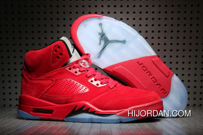 new product fb0fc df9de Air Jordan 5 University Red Men 2018 New New Release