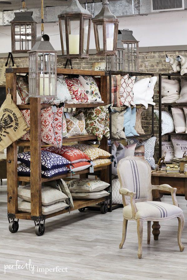 shop talk : new in the shop this week!   Rolling shelves ...