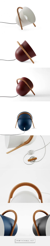 The Elma Portable Floor Lamp - Design Milk - created via https://pinthemall.net