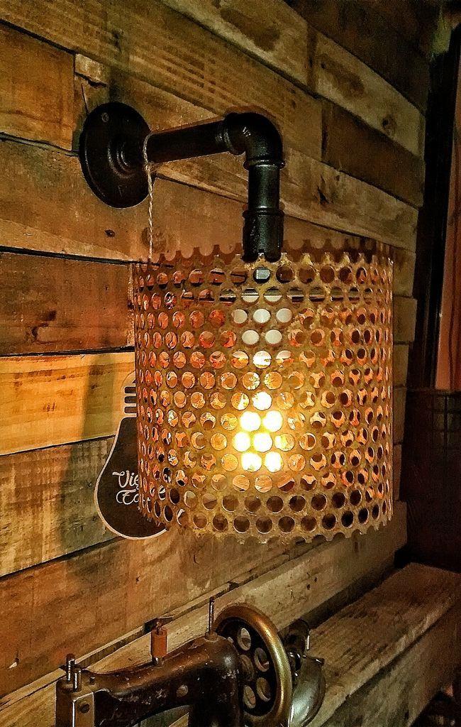 Aplique De Pared Industrial Vintage Foco Edison Apliques De Pared Industriales Apliques De Pared Lamparas De Pared