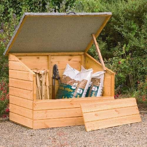 garden storage & garden storage   DIY: Outdoor Projects   Pinterest   Storage ...