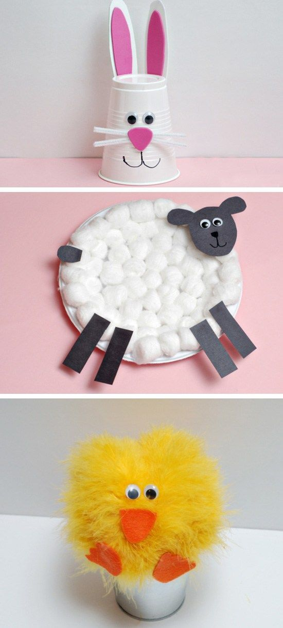 Bunny Cup Craft Click Pic for