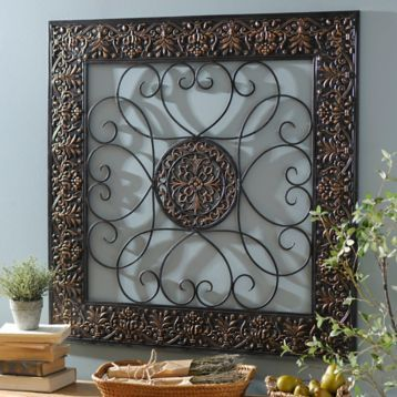 Bronze Embossed Medallion Metal Wall Plaque Metal Wall Plaques