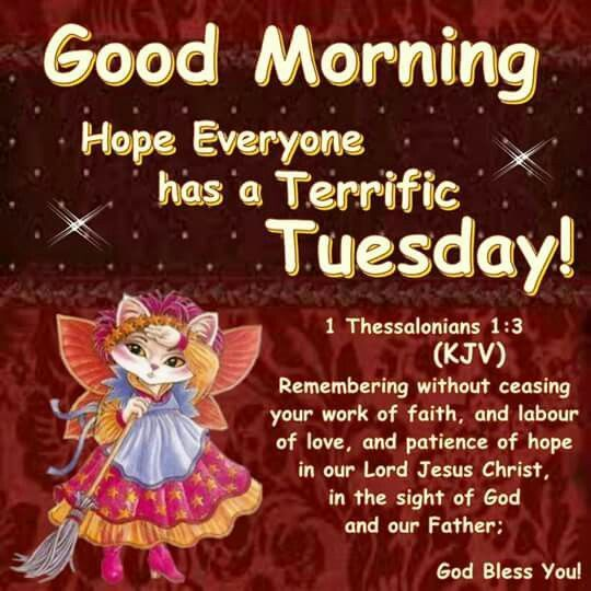 Delicieux Good Morning Hope Everyone Has A Terrific Tuesday Good Morning Tuesday  Tuesday Quotes Good Morning Quotes