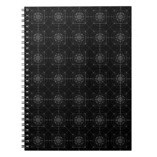 Third Dimensional Sacred Geometry Notebook