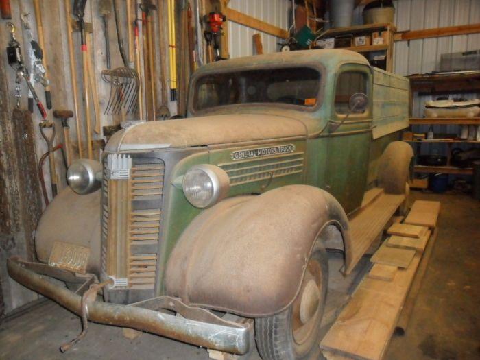 1937 GMC Truck Model T14B