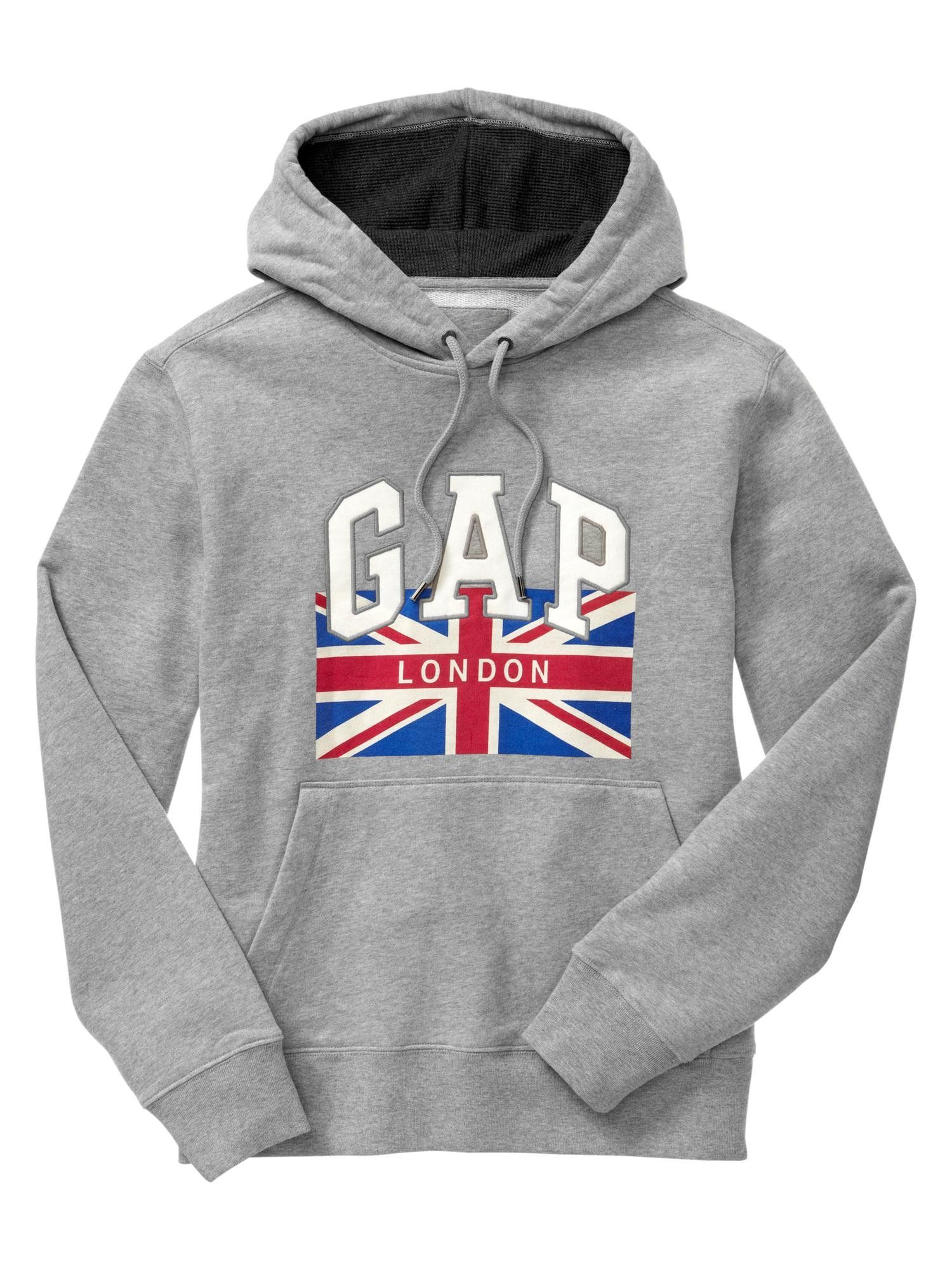 Union Jack Gap logolu kap  onlu sweatshirt | Gap | Pinterest ...