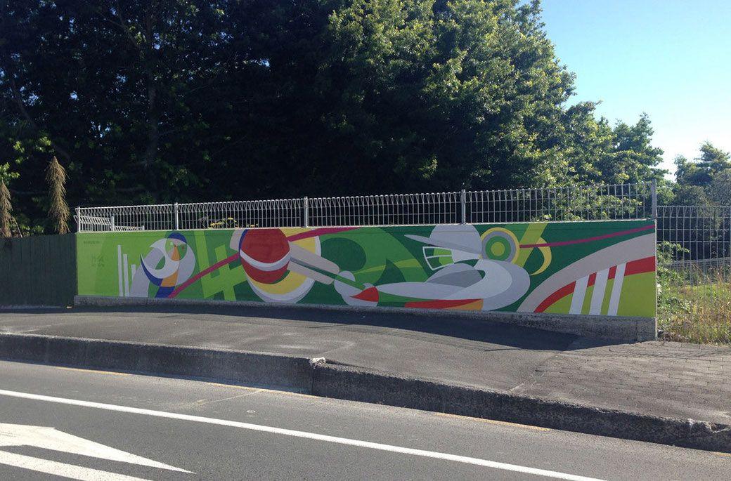 Cricket Mural Mural Mural Art Cricket