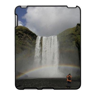 waterfall in Iceland Speck Case by claudiaf65