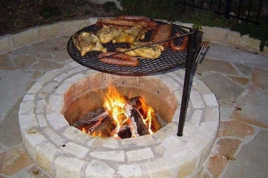 Fire Pit Cooking Grates  | Gardening, backyards,porches ...