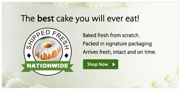 Order Cakes Online Mail Order Fresh Gourmet Cakes WeTakeTheCake