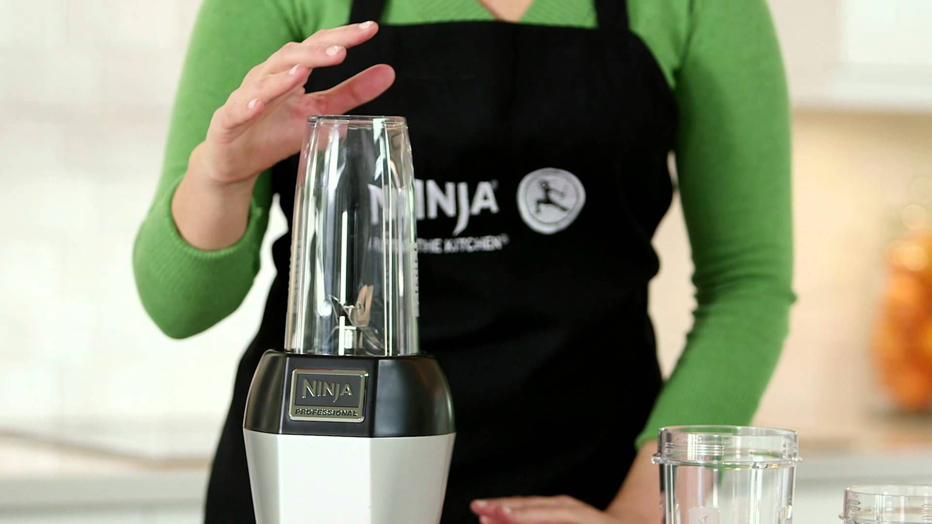 How to use the nutri ninja product demonstration with