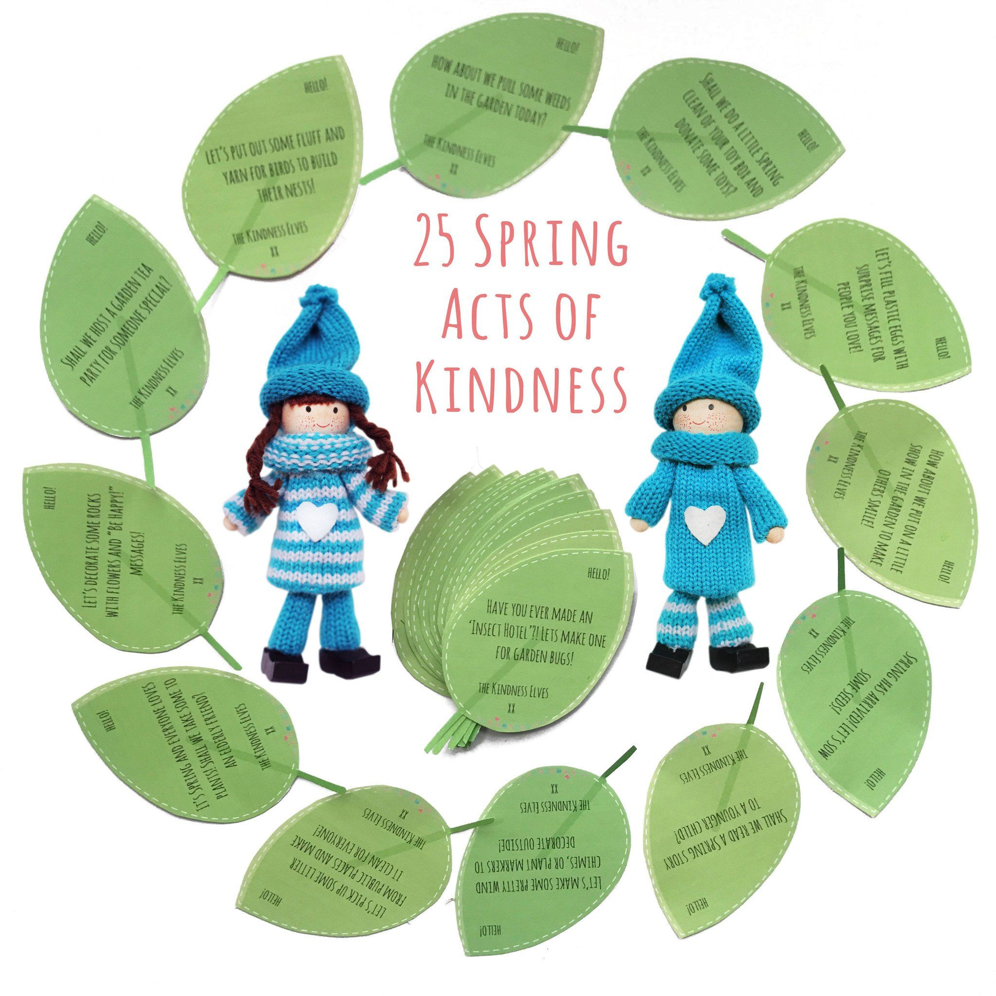 25 Spring Acts Of Kindness