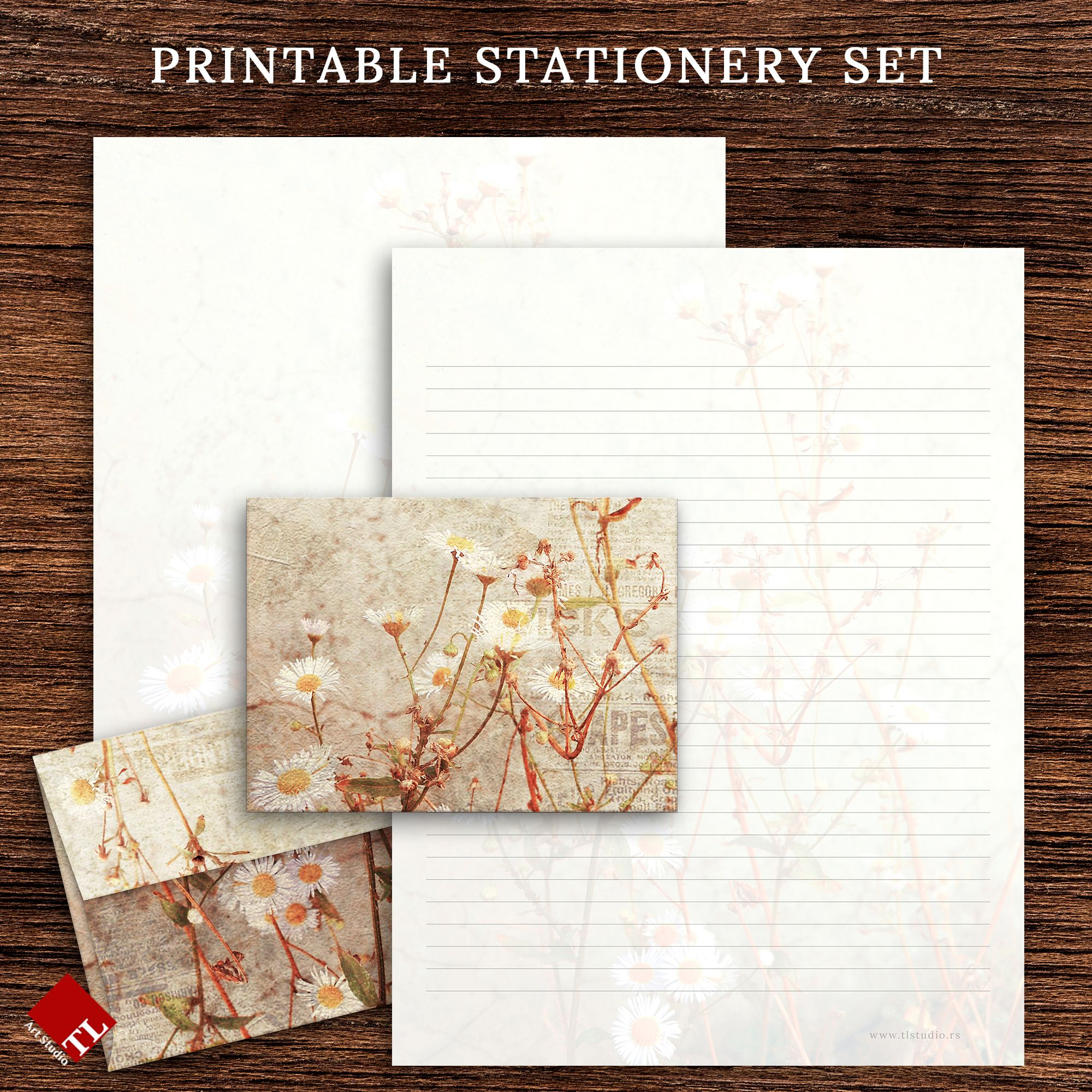 Thank You Letter Paper Letter Set Letter Paper Chinese Style