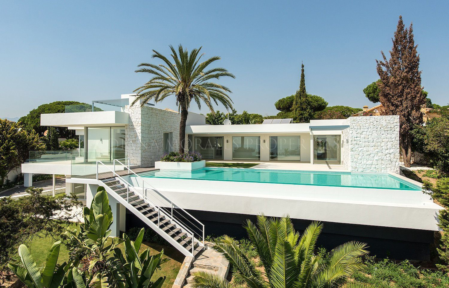 Piscina Marbella Beachside Modernity Villa Marbesa Marbella East Home