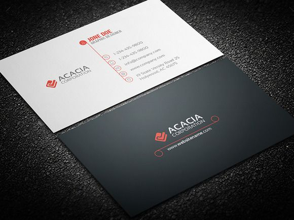 Round business card business cards business and fonts round business card accmission Gallery