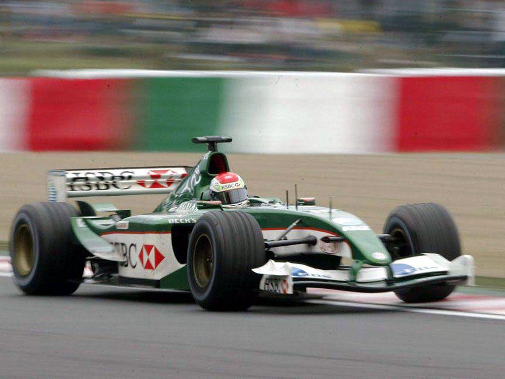 Formula 1 Blogger Justin Wilson Jaguar R4 Japan 2003 Formula 1 Indy Cars Racing