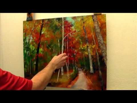 Pintar Cuadro De Hortensias Acrilico Gabriela Mensaque Youtube Técnicas De Pintura Monet Pintura Em Tela