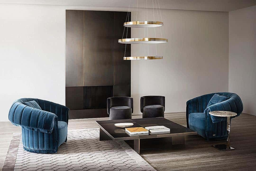 Rugiano This Blue Is Timeless Interior By Rugiano Contemporary Designers Furniture Contemporary Furniture Design Furniture Furniture Design
