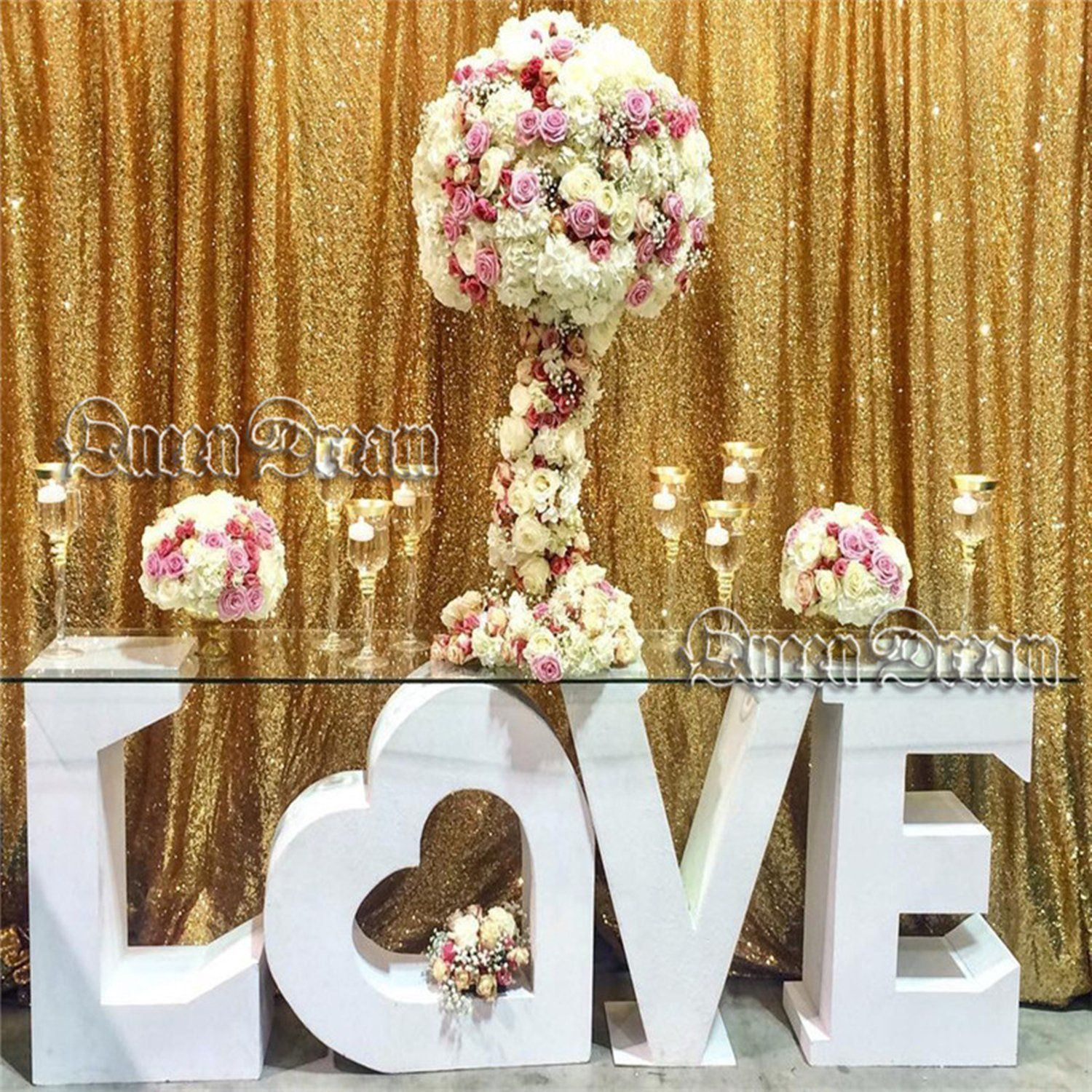 30 Unique And Breathtaking Wedding Backdrop Ideas: 30 Wedding Photo Display Ideas You'll Want To Try