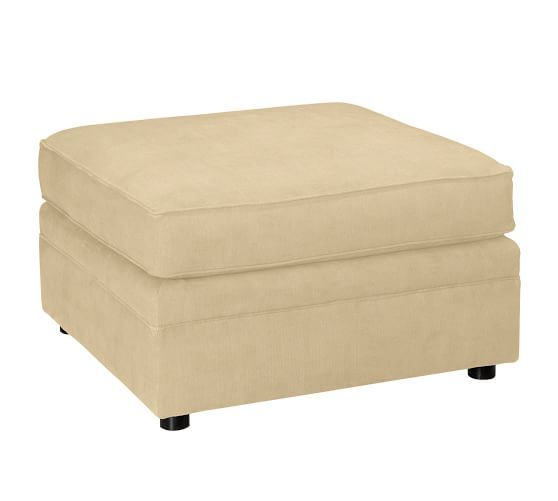 Pearce Upholstered Grand Ottoman Polyester Wrapped