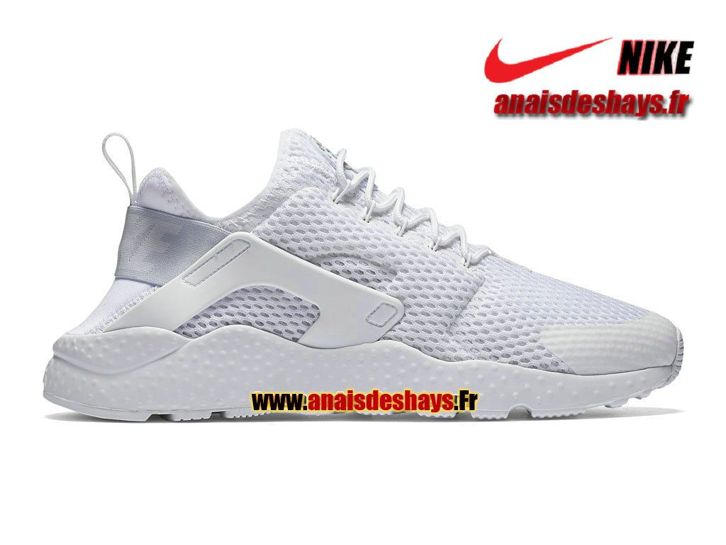 e745790e6da Boutique Officiel Nike Air Huarache Ultra Breathe Homme Blanc 833292-100H