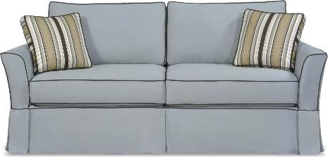 Four Seasons Casual Custom Townhouse Slipcover Sofa