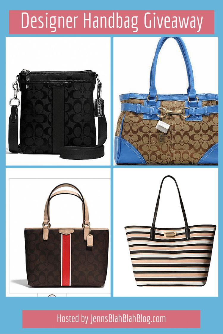 Monthly Designer Handbag Giveaway Winner Picks Jennsblahblahblog 94100 2monthly