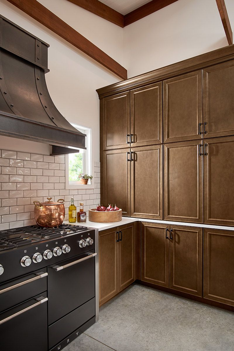 Rustic Kitchen Design Cabinet Door Style 540 Maple
