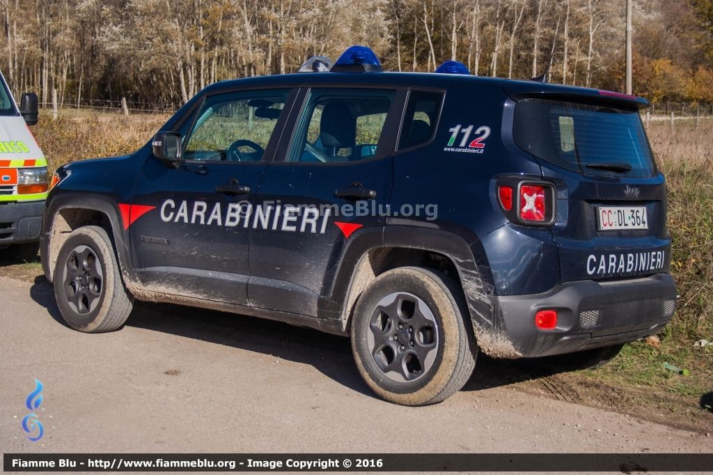 Passione Auto Italiane 1 100 Jeep Renegade In Divisa Jeep