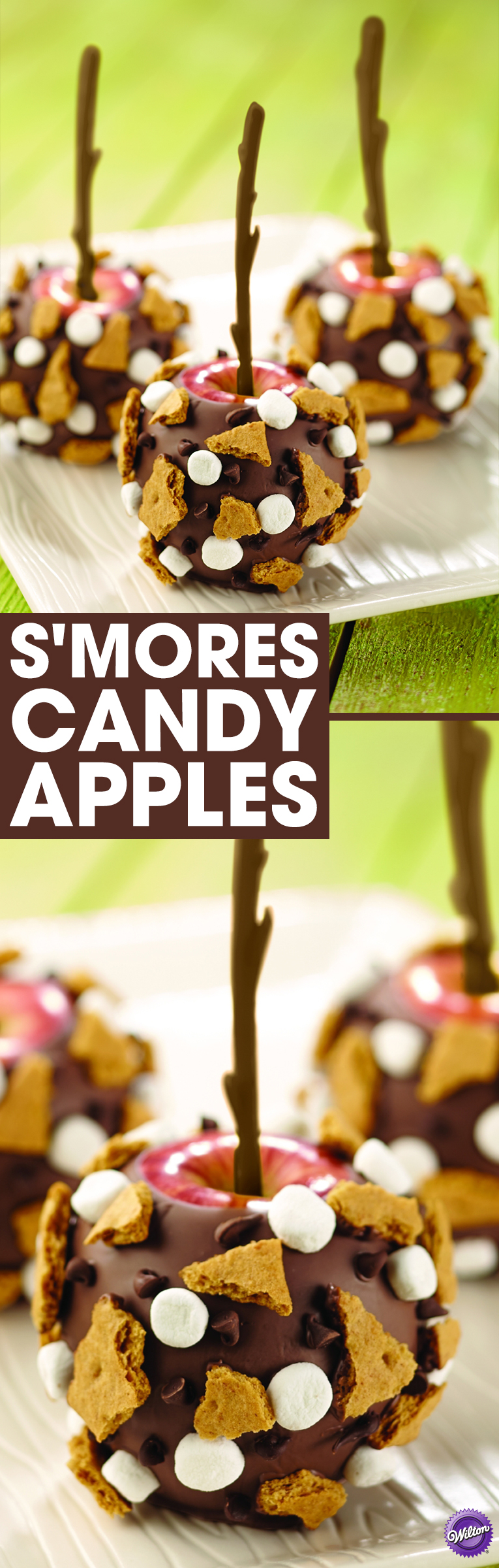 How to Make S'mores Candy Apples When a favorite