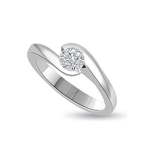 0 25ct G Vs1 Solitar Diamant Verlobungsring Fur Damen Mit Https