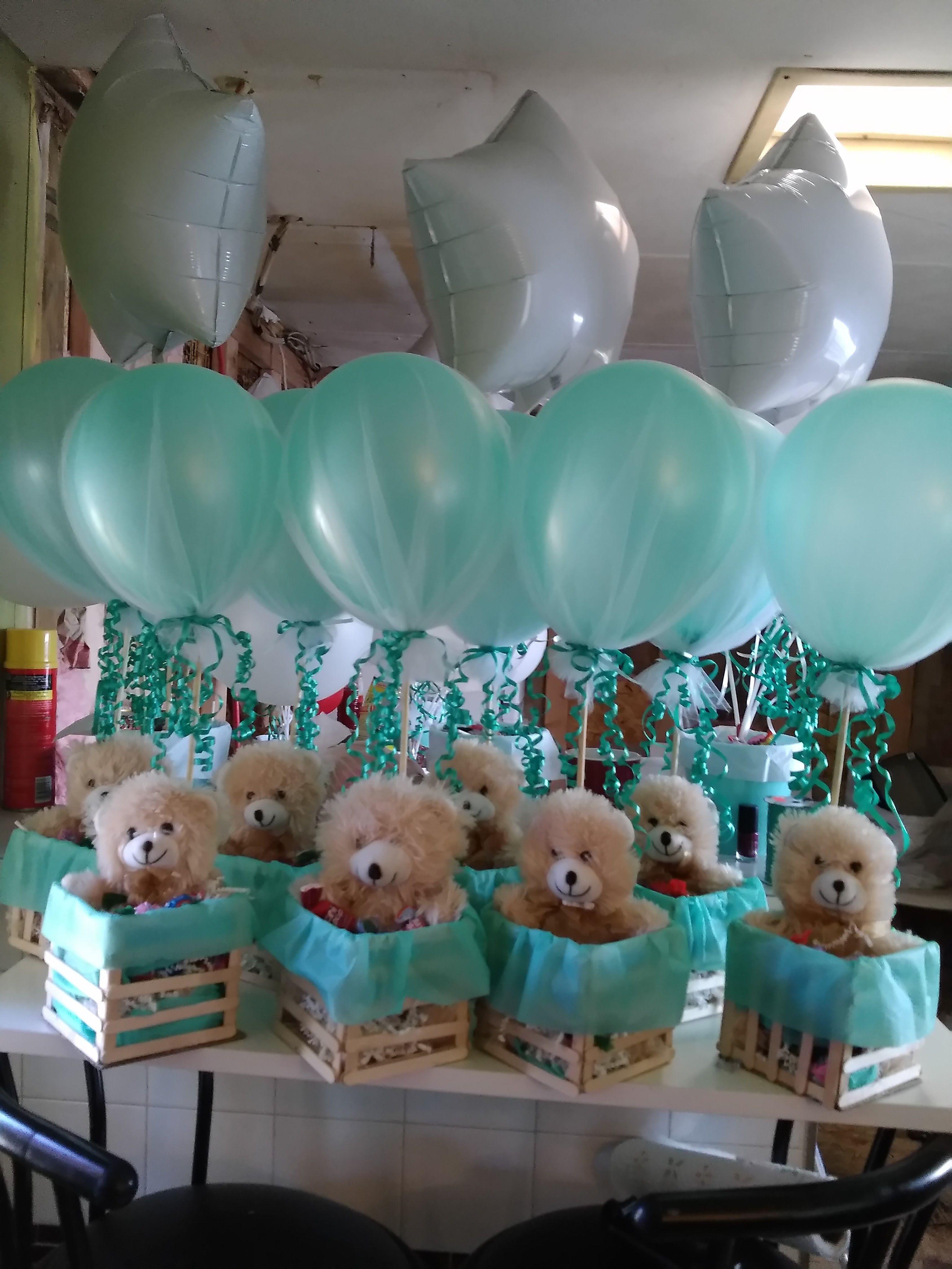 16 Recuerdos de mesa de baby shower