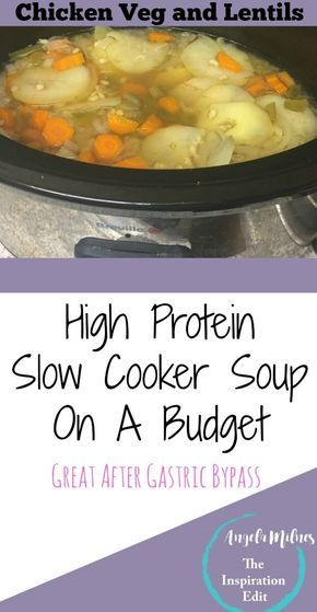 High Protein Slow Cooker Soup On A Budget Slow Cooker