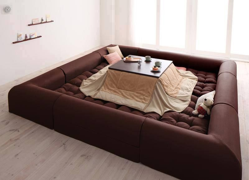 In Japan Itu0027s Very Common And Traditional To Own A Kotatsu. Itu0027s A Table  That Can Also Be Used As A Bed!