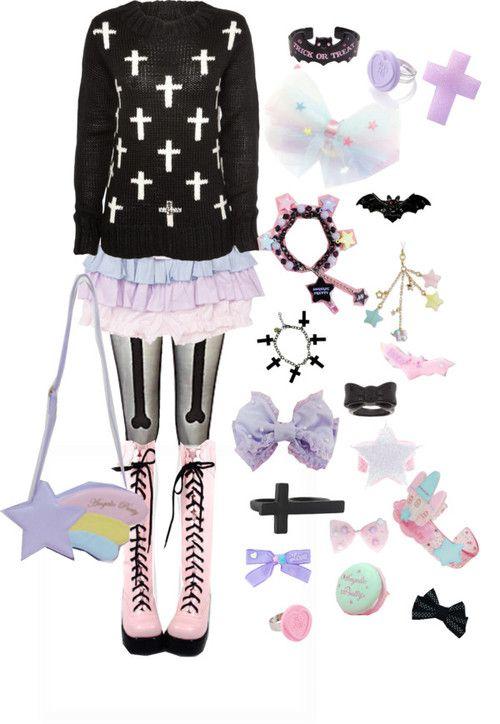 pastel goth 3  pastell goth outfits pastell goth und