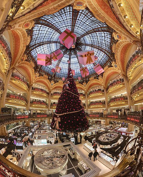 Les Galeries Lafayette Paris A Cultural Icon Christmas In Paris Lafayette Paris Paris Shopping